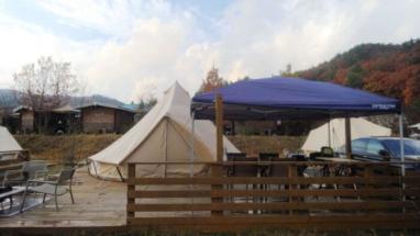 【京都るり渓温泉グランピング】ハイグレードテントに泊まってみた!
